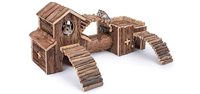 Niteangel Natural Living Tunnel System - Toy for Your Hamster