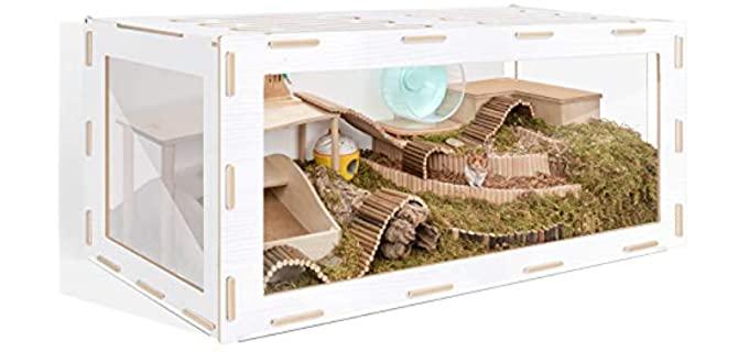 Niteangel Bigger World - Cage for Gerbils