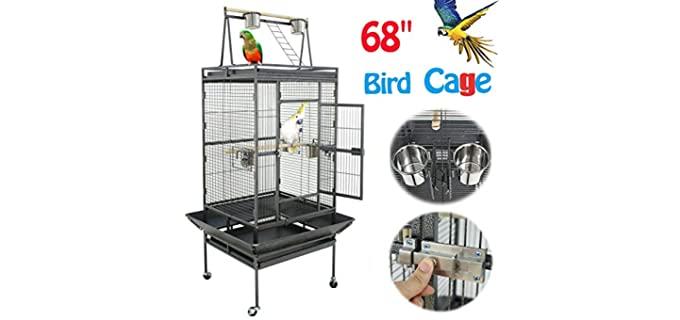 Nova Microdermabrasion Parakeet Cage - Parakeet Cage