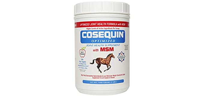 Nutramax Laboratories Cosequin optimized with MSM Supplement - Horse Joint Supplement
