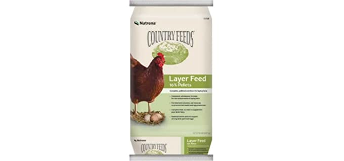 Nutrena Country - 50 Pounds Feed for Chickens