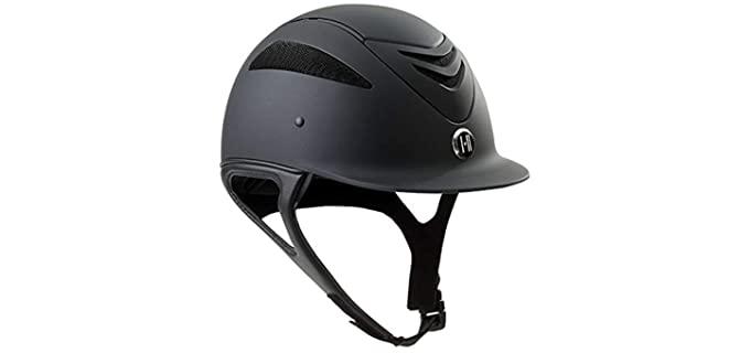 One K Unisex Defender Protective Riding Helmet - Helmet for Horse Riders