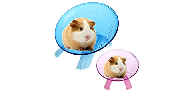 Onepiece Running Flying Exercise Wheel Disc - Hamster's Wheel