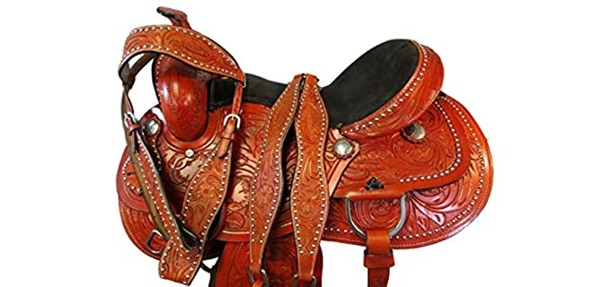 Orlov Hill Leather Co Gaited - Western Saddle