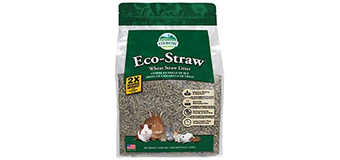 Oxbow Ecostraw Rabbit Litter - Litter for Rabbits