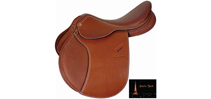 Paris Tack Close Contact - English Saddle
