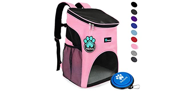 PetAmi Premium Pet Carrier Backpack - Carry Bag for Hamsters