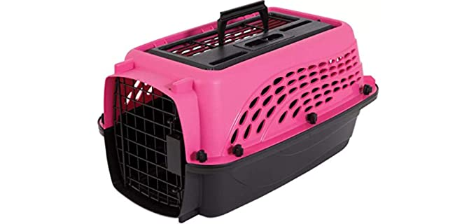 Petmate Two-Door Top Load Kennel - Crate for Puppies