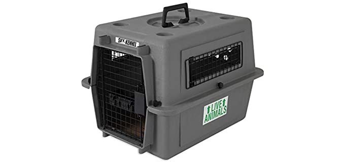 Petmate Sky Kennel Pet Carrier - Crate for Puppies
