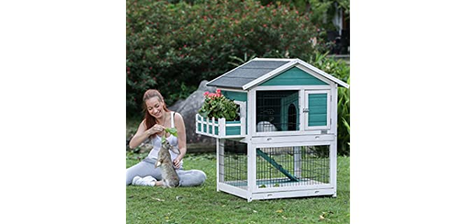 Petsfit Outdoor - Rabbit's Outdoor Hutch