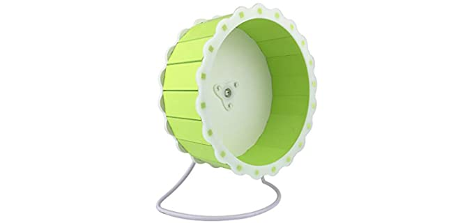 Petzilla Quiet Exercise Wheel - Hedgehog Wheel