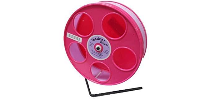 Transoniq Pink Hamster Wodent Wheel - Wheel for Hamsters