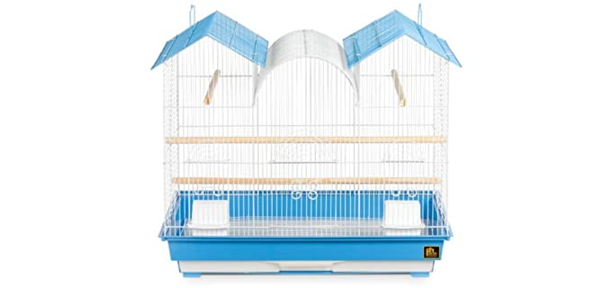 Prevue Hendryx Triple Roof Bird Cage - Cage for A Parakeet