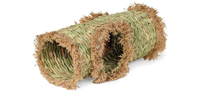 Prevue Hendryx Hideaway Grass Tunnel Toy - Toy for Rabbits