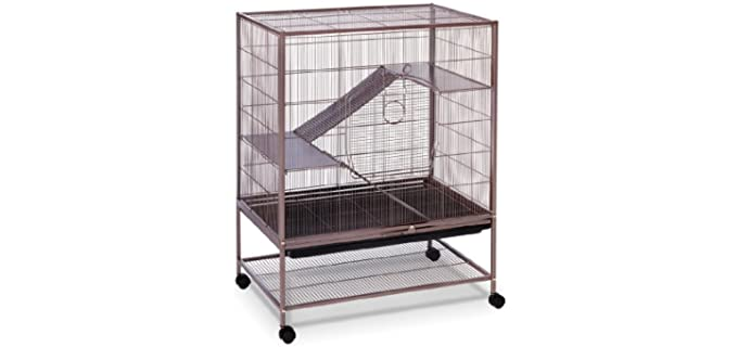 Prevue Earthtone Dusted Rose Rat Cage - Rat Cage