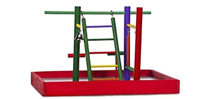 Prevue Hendryx Tabletop Playpen - Toy for Birds