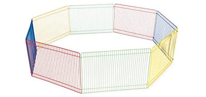 Prevue Pet Products Multicolor - Guinea Pig Playpen Cage