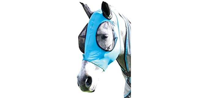Professional`s Choice Comfort Fit Fly Mask - Horse Fly Mask