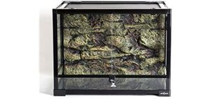 Repti Zoo Large Reptile Glass Terrarium - Corn Snake's Enclosure