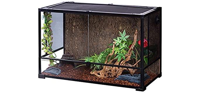Repti Zoo Reptile Glass Terrarium - Chameleon Enclosure