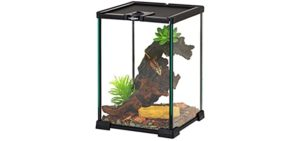 Repti Zoo Mini Reptile Glass Terrarium - Corn Snake Enclosures