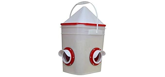 RentACoop Chicken Feeder Chicken Owners - Chciken Feeding Device