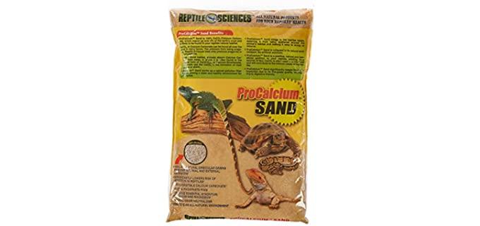 Reptile Sciences Terrarium Sand - Bedding for Your Bearded Dragon