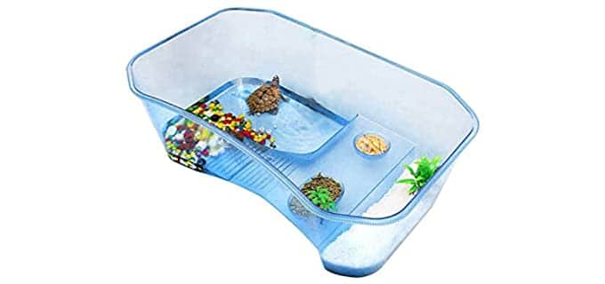 Hamiledyi Store Reptile Habitat - Habitat for Your Turtle