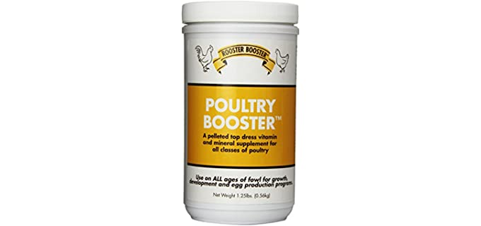 Rooster Booster Poultry Booster - Vitamins for Chickens