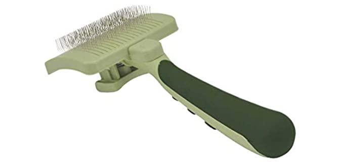 Safari Self-Cleaning Slicker Brush - Rabbit Brush