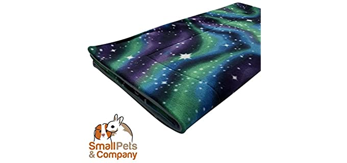 Small Pets and Company Guinea Pig Fleece Cage Liner - Bedding for Guinea Pigs