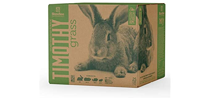 Standlee Hay Company Premium Timothy Grass - Healthy Hay for Rabbits