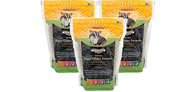 Sun Seed Quiko Sugar Glider Food - Sugar Glider Food Affordable