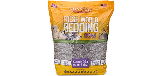 Sunseed Fresh World Pet Bedding - Bedding for Rats