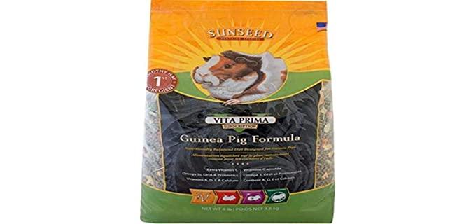 Sunseed Vita  Prima Guinea Pig Formula - Food for Guinea Pigs