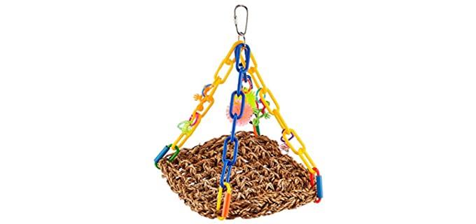 XSuper Bird Creations Mini Flying Trapeze - Bird Toy