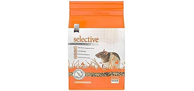 Supreme Petfood's Science Selective Rat Food - Rat's Food