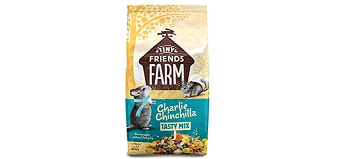 SupremePetFoods Charlie Chinchilla - Chinchilla Food