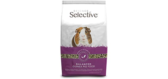 SupremePetFoods Selective Guinea Pig Fortified Diet - Guinea Pig Food