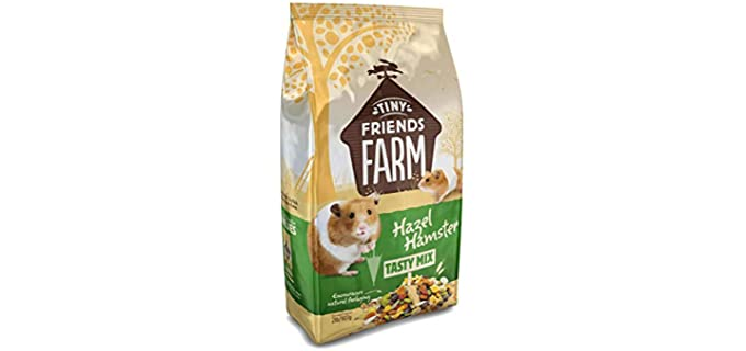 SupremePetfoods Tiny Friends Farm Hazel Hamster Tasty Mix - Hamster Food