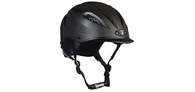 Tipperary Sportage Equestrian Sport Helmet - Helmet for Horse Riding