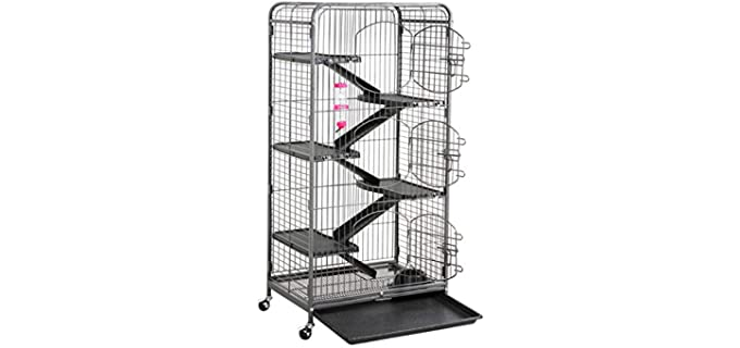 Topeakmart Large - Cage for Ferrets