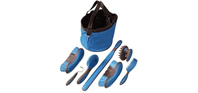 Tough 1 Great Grip Grooming Set - Horse Grooming Kits