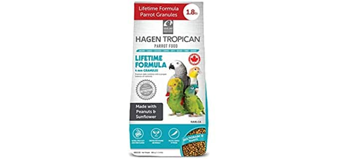 Tropican Lifetime Maintenance Parrot Granules - Food for Parrots