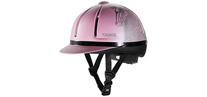 Troxel Legacy Schooling Helmet - Helmet for Horse Riding