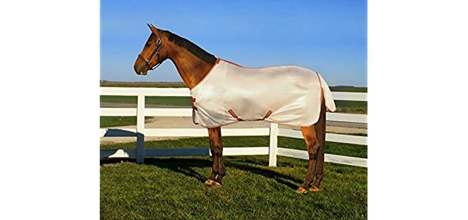 TuffRider Sport Mesh Standard Neck Fly Sheet - Fly Sheet for Horses
