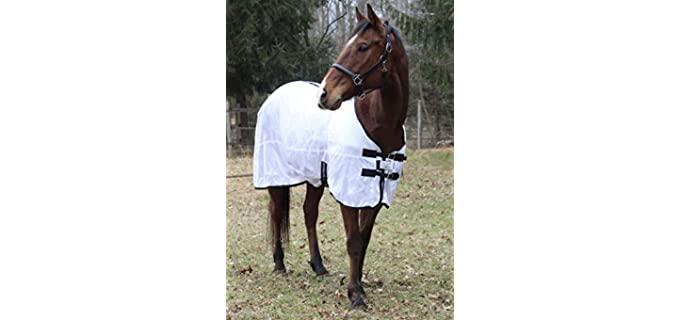 TuffRider Comfy Mesh Fly Sheet - Horse's Fly Sheet