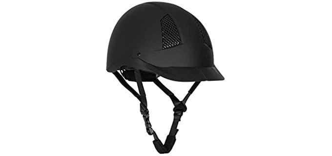 TuffRider Starter Horse Riding Safety Helmet - Helmet for Horse Riding