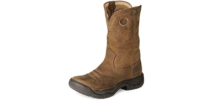 Twisted X Men's All-Around Cowboy Boot - Boots for Riding a Horse
