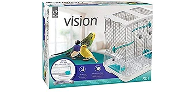 Hagen Vision 2 Bird Cage - Parakeet's Cage